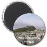 Mount Mansfield, Vermont Refrigerator Magnet