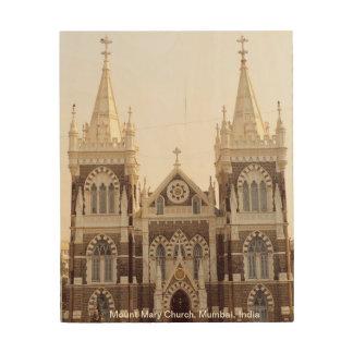 Mount Mary Church, Mumbai Wood Wall Decor