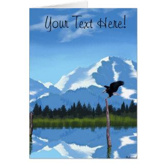 Mount McKinley Alaska Greeting Card