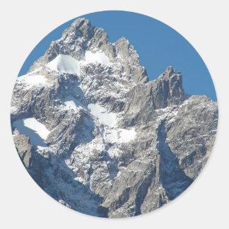 Mount Moran Classic Round Sticker