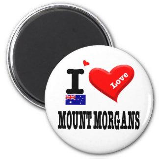 MOUNT MORGANS - I Love Magnet