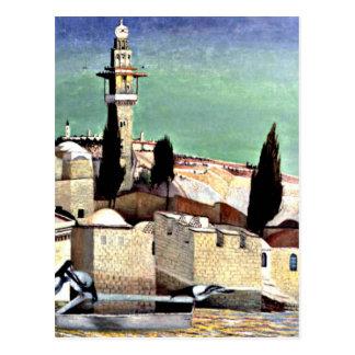 Mount of Olives in Jerusalem Postcard