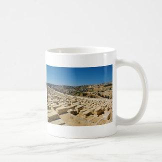 Mount of Olives Jewish Cemetery Jerusalem Israel Coffee Mug