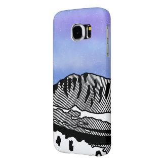 Mount Olympus Greece Illustration Samsung Galaxy S6 Case