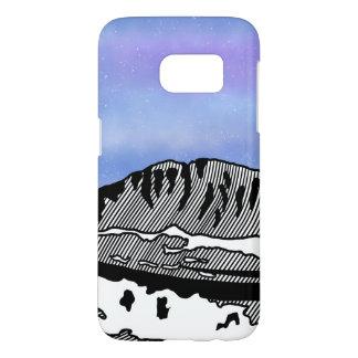 Mount Olympus Greece Illustration Samsung Galaxy S7 Case