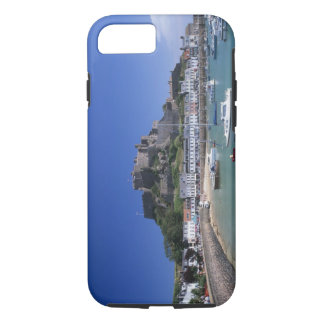Mount Orgueil Castle and harbour, Gorey, Jersey iPhone 7 Case