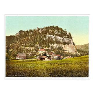 Mount Oybin, Zittau, Saxony, Germany magnificent P Postcard