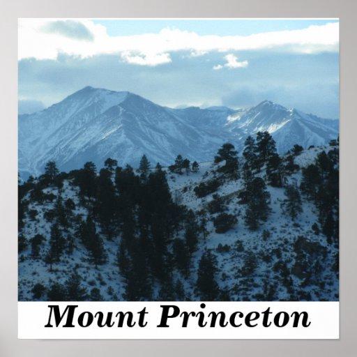 Mount Princeton Poster