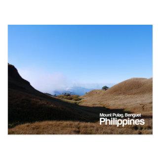 Mount Pulag Benguet Philippines Postcard