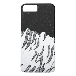 Mount Puncak Jaya black and white Case-Mate iPhone Case