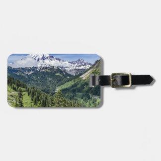 Mount Rainer Luggage Tag