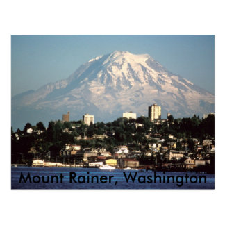 Mount Rainer, Washington postcard