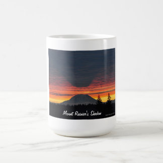 Mount Rainier and its Shadow mug