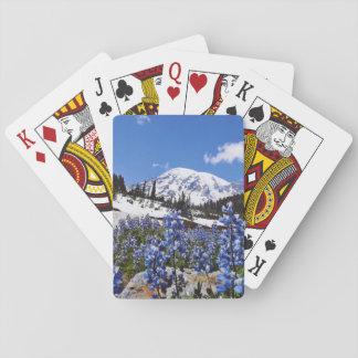 Mount Rainier at Paradise Point Poker Deck