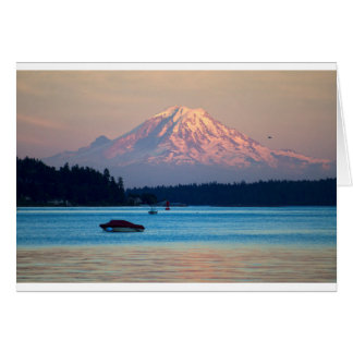 Mount Rainier Card