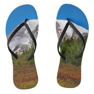 Mount Rainier Flip Flops