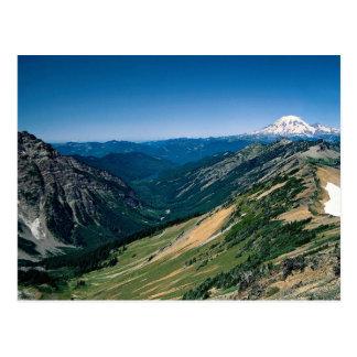 Mount Rainier from the Goat Rocks Wilderness, Wash Postcard