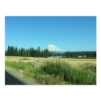 Mount Rainier Horizontal Post Card