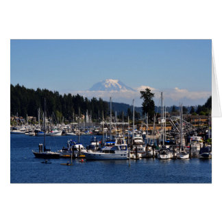 Mount Rainier in Gig Harbor, WA Card
