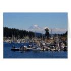 Mount Rainier in Gig Harbour, WA Card
