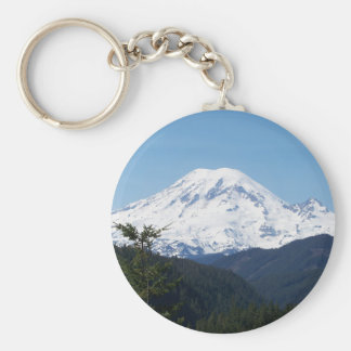 Mount Rainier Keychain