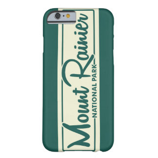 Mount Rainier National Park Barely There iPhone 6 Case