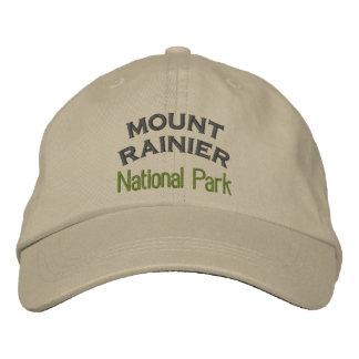 Mount Rainier National Park Embroidered Hat