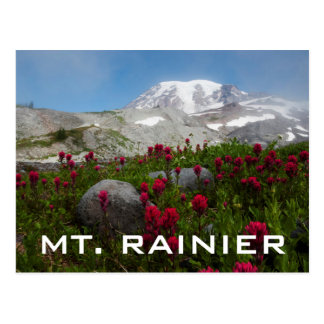 Mount Rainier National Park, Mount Rainier 1 Postcard