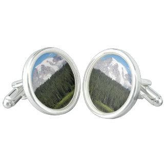 Mount Rainier National Park Photo Cufflinks