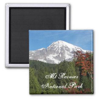 Mount Rainier National Park Photo Magnet