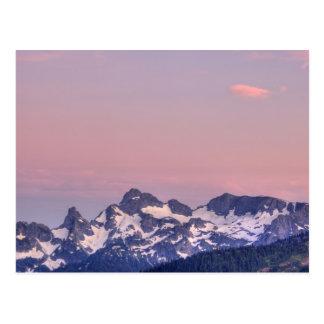 Mount Rainier National Park, Sarvent Glaciers Postcard