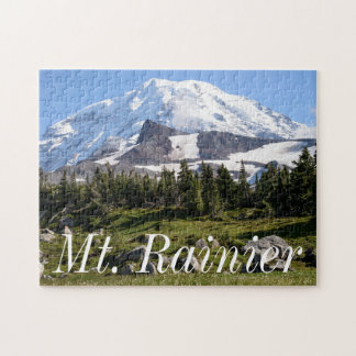 Mount Rainier National Park, WA. Spray Park Puzzle