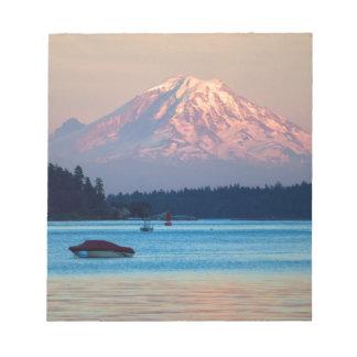 Mount Rainier Notepad