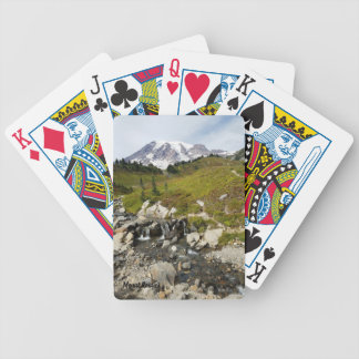 Mount Rainier Playing Cards