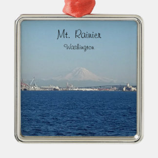 Mount Rainier Seattle Washington Ornament