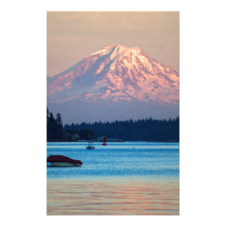 Mount Rainier Stationery