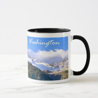 Mount Rainier Sunset Mug