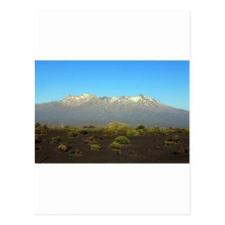 Mount Ruapehu Volcanic Plateau New Zealand Postcard