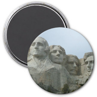 Mount Rushmore 3 Inch Round Magnet