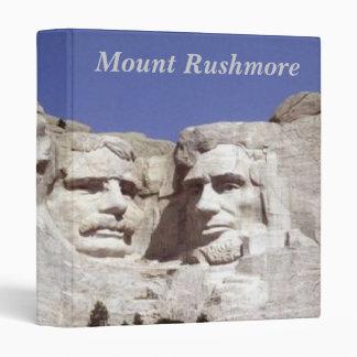 Mount Rushmore 3 Ring Binder