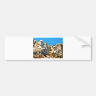 Mount Rushmore Classic View Bumper Sticker