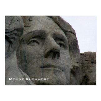 Mount Rushmore National Memorial Postcard