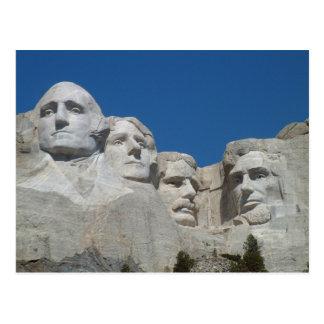 Mount Rushmore Poscard Postcard