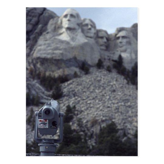 Mount Rushmore Postcard