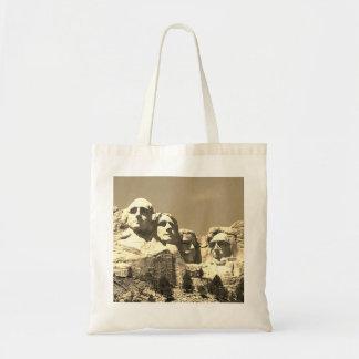 Mount Rushmore Presidential Monument South Dakota Tote Bag