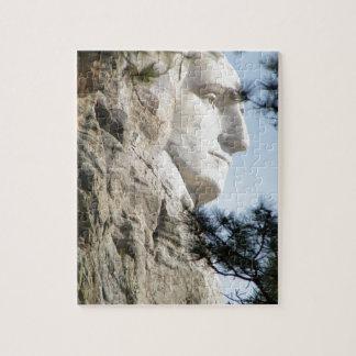 Mount Rushmore Puzzle