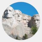 Mount Rushmore Rocks! Mount Rushmore, South Dakota Classic Round Sticker