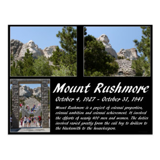 Mount Rushmore Series #1 Postcard