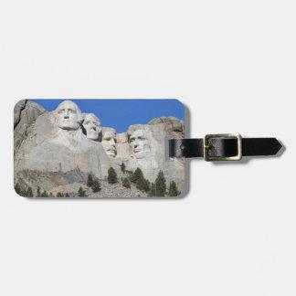 Mount Rushmore South Dakota Presidents USA America Bag Tag