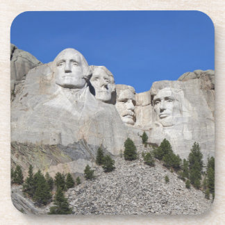 Mount Rushmore South Dakota Presidents USA America Drink Coaster